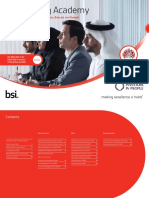 Bsi Training Qatar 2016