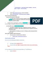 Attachment Training Steps