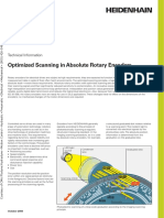 Optimized Scanning in Absolute Rotary Encoders