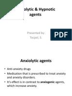 Anxiolytic & Hypnotic