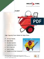Portable Foam Equipment DF130