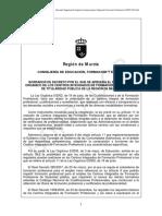 Borrador Reglamento Cifp Murcia