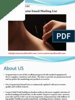 Acupuncturist Email Mailing List.pdf