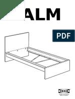 Malm Bed Frame High AA 837114 6 Pub