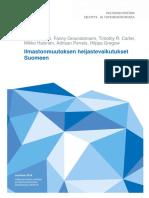 Hilden Et Al 2016 Ilmastonmuutoksen Heijastevaikutukset Suomeen