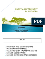 Ilyas Asaad - Environmental Enforcement in Indonesia