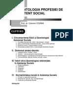 Deontologia Profesiei de Asistent Social-c.cozma