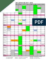 Calendário escolar 17_18