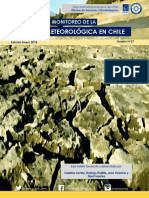 Monitoreo de La Sequia Diciembre 2017 MeteoChile