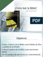 Taller Sobre Biblia