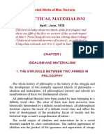 Dialectical Materialism- Mao