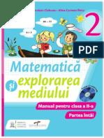 Matematica si explorarea mediului. Manual pentru clasa a II-A (partea I)