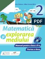 Matematica si explorarea mediului. Manual pentru clasa a II-a (partea a II-a)
