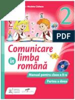 Comunicare in limba romana. Manual pentru clasa a II-a (partea a II-a )
