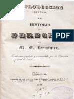 Intro Ducci on General a La Historia