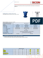 Air Release Valves - Single Orifice Flange End (4)