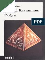 - Sembol Kavramın Doğası-Ernst Cassirer .PDF