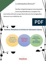 Handouts, Worksheet, And Activities