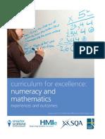 Numeracy Maths Eo