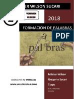 Formación de Palabras de acuerdo con la Nueva Gramática de la Lengua Española