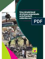 Una mirada local al crimen organizado en la frontera colombo venezolana