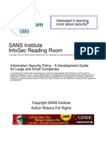 Information Security Policy a Development Guide for Large and Small Companies 1331