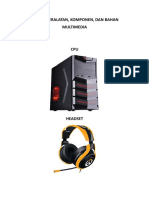 Daftar Peralatan Mm