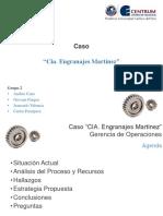 Caso Engranajes Martinez - Grupo 2
