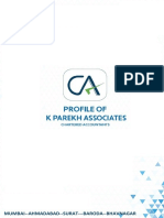 Profile of K Parekh Associates