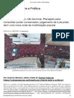 Antonio Martins - Uma chance para a Política