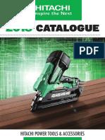 Hitachi Power Tools Catalogue Australia