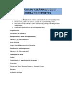Reglamento Final 2017