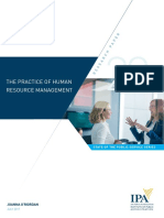 The Practice of Hrm