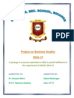 Project on Business Studie1