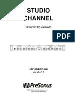 StudioChannel OwnersManual PO