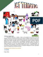 Proiect Tematic Animale Mari Si Mici in Ograda La Bunici