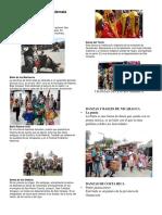 5 Danzas de Centro America