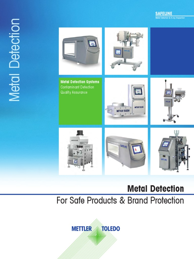 mettler toledo safeline metal detector manual pdf