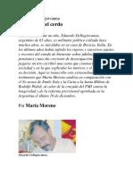 La Guerra Del Cerdo_María Moreno