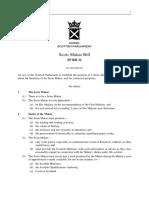 SPB032 - Scots Makar Bill 2018