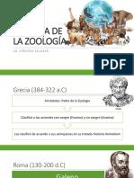 Historia de La Zoología
