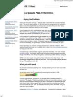 Arreglar Un Seagate 7200.11 Hard Drive