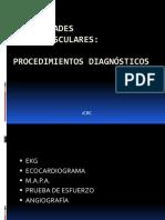 Enfermedades Cardiovasculares Procedimientos Diagnósticos