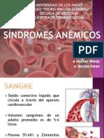 Síndromes Anémicos