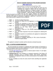 Guidelines to Candidates Applying for Pilots License Examination