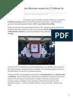 26/01/2018 Mercado Hipotecario Mexicano Supera Los 22 Billones de Pesos SHF