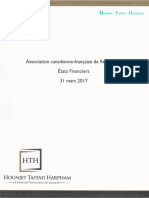 États financiers ACFR 2016 2017