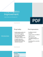 Ficep Logistics Improvement