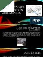 Convertidores Catalíticos en Automóviles