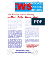 January 2005 Anchorage Gospel Rescue Mission Newsletter